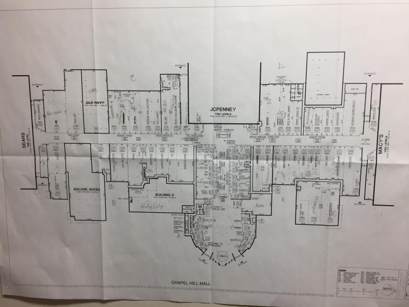 Chapel Hill map