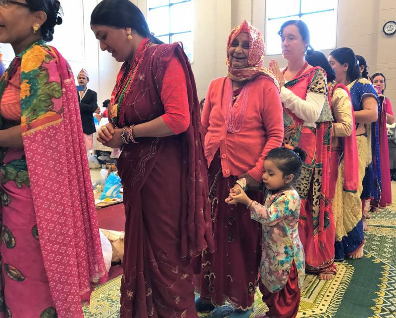 Hindu Teej festival