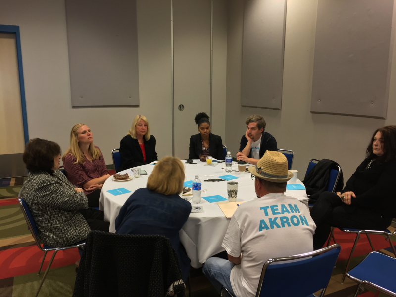 Nearly 6,000 people signed up to participate in On the Table discussions in the Akron area.