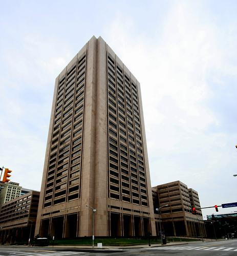 photo of Cuyahoga County courthouse