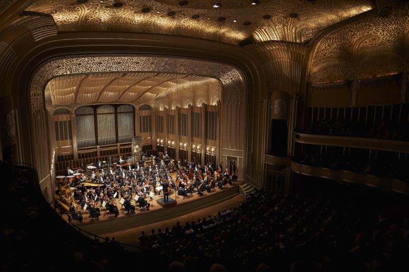 Severance Hall after major renovations were done at the turn of the century