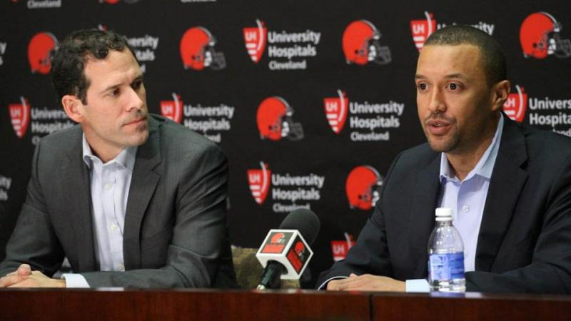 Paul DePodesta (left) and Sashi Brown