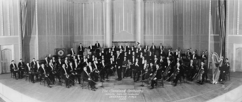 The Orchestra at Severance Hall, 1931