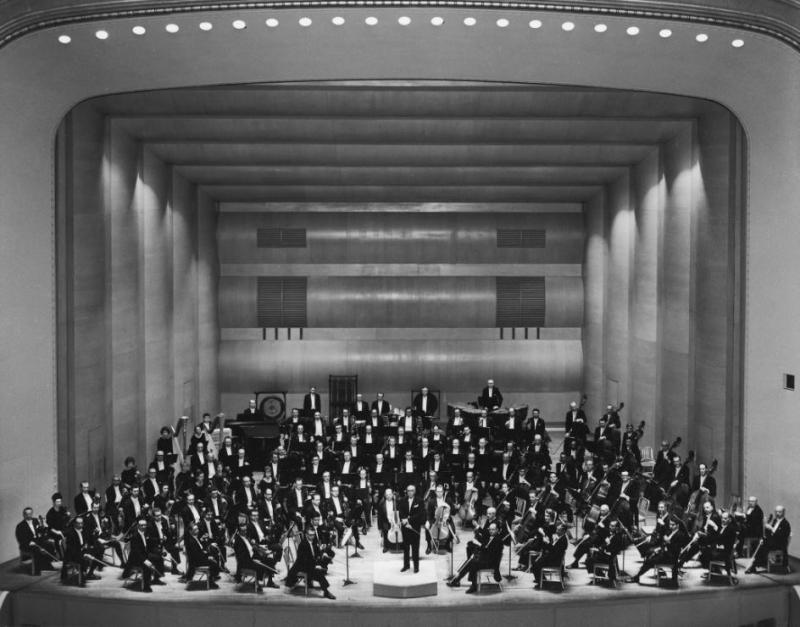 The Cleveland Orchestra with Music Director George Szell, 1966