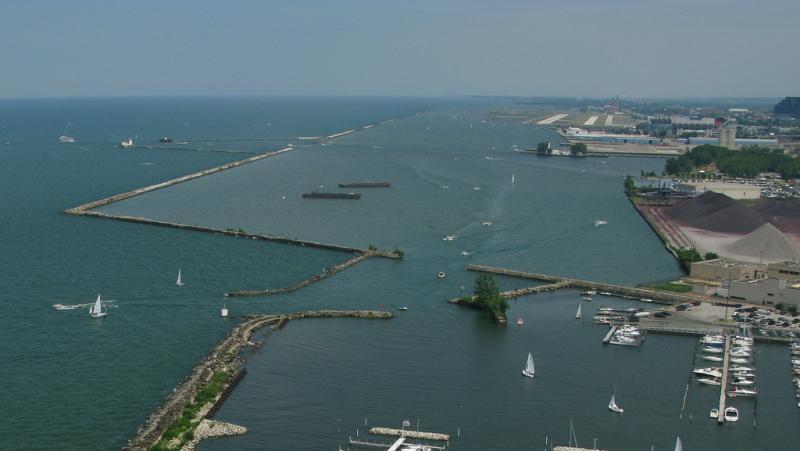 photo of Cleveland Harbor