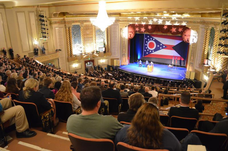 photo of Kasich's 2016 State of the State speech