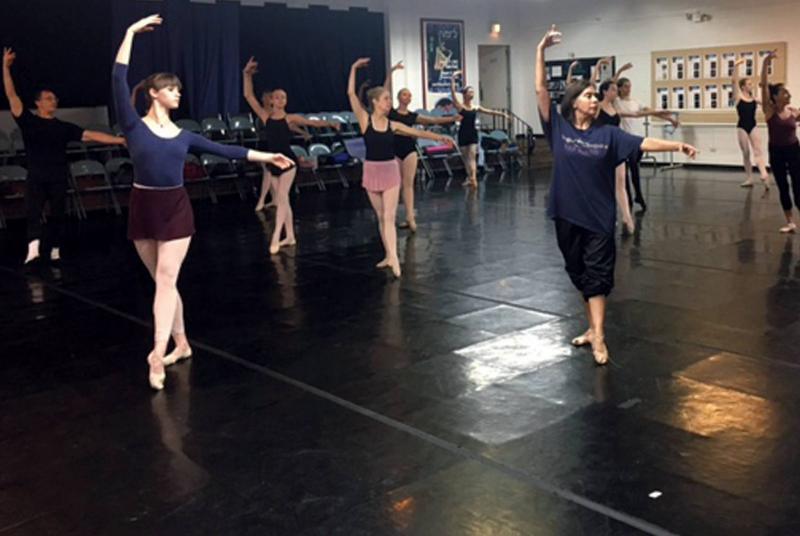 photo of Verb Ballets class