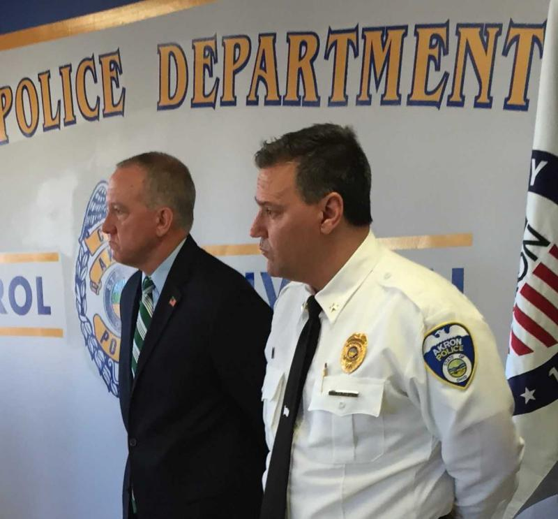Ken Ball and Dan Horrigan at December 20th news conference