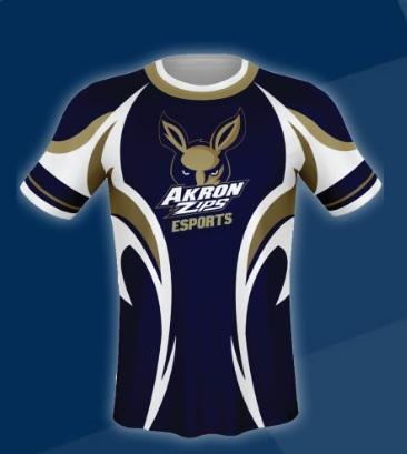 photo of Akron eSports uniform