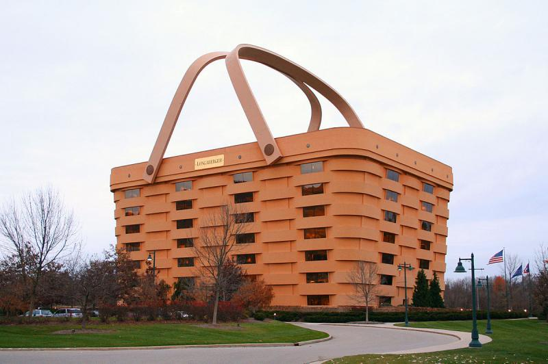 photo of Longaberger Basket Building