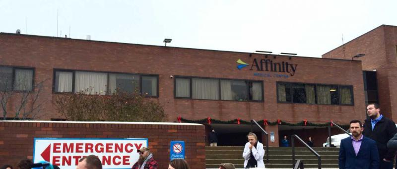Affinity Medical Centerr, 8th Street entrance