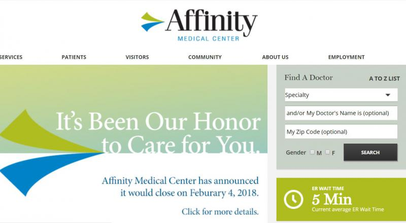 Affinity Web Site