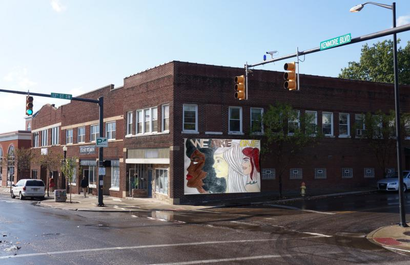 photo of We Are One mural submission