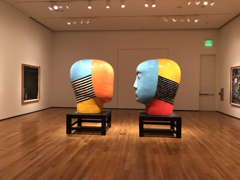"""The exhibition """"Blurred Lines"""" features giant ceramics that weigh more than 1,000 lbs."""