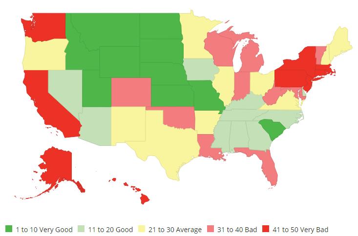 """Ohio is """"Average."""""""