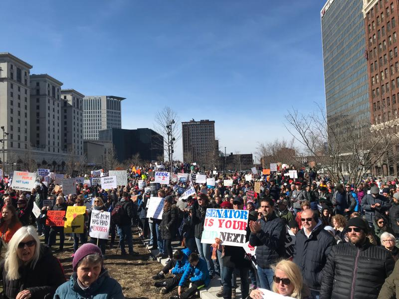 photo of March for Our Lives in Cleveland