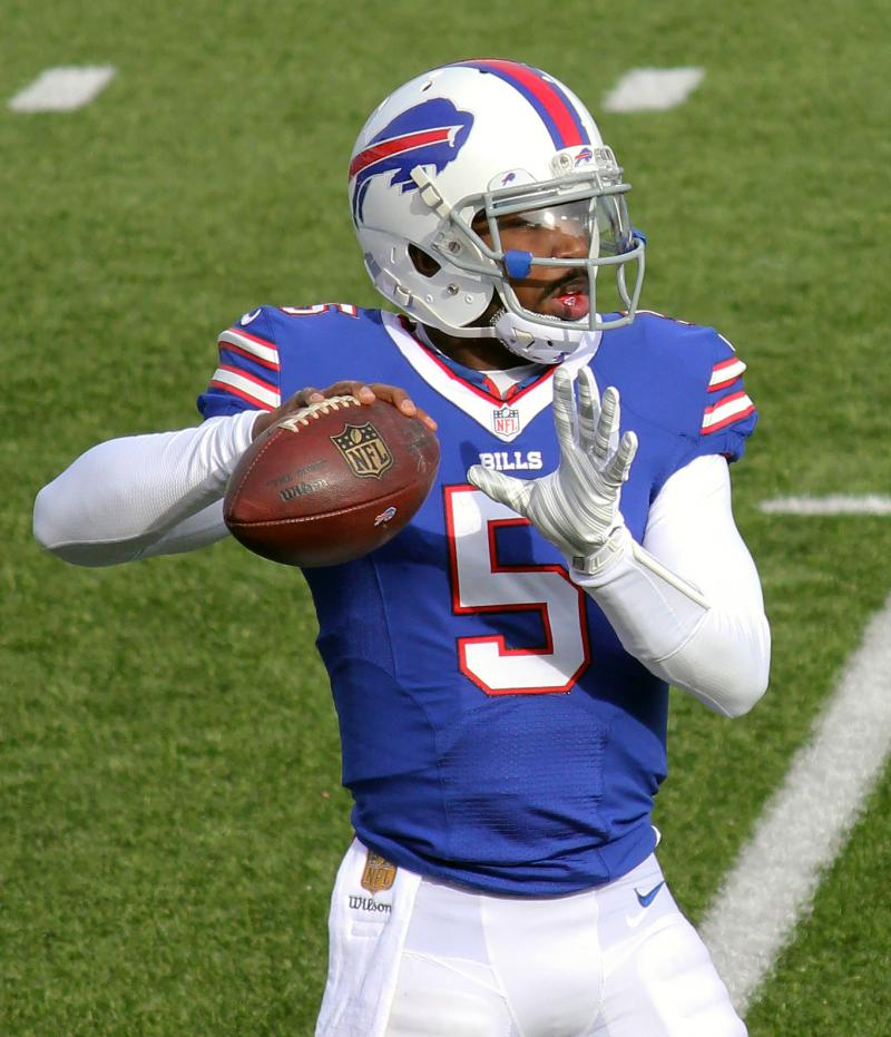 The Browns sent a third round pick to Buffalo for Tyrod Taylor, who led the Bills to the playoffs last season
