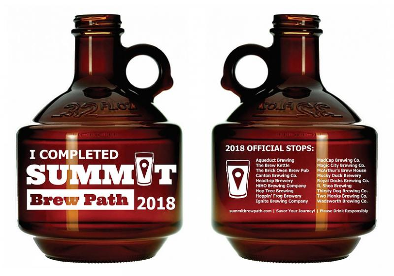 photo of Summit Brew Path growler