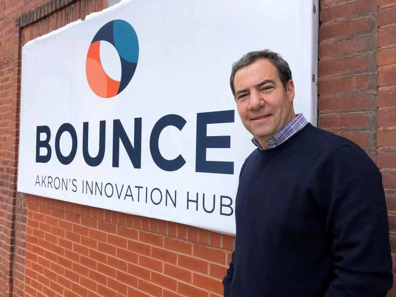 Doug Weintraub is the new CEO of Bounce: Akron's Innovation Hub. He's a serial entrepreneur and angel investor who says he's wants to build a start-up culture around the former tire factory.