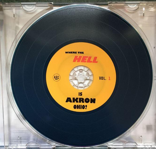 "Akron Recording Company has put together the compilation ""Where The Hell Is Akron Ohio?"""