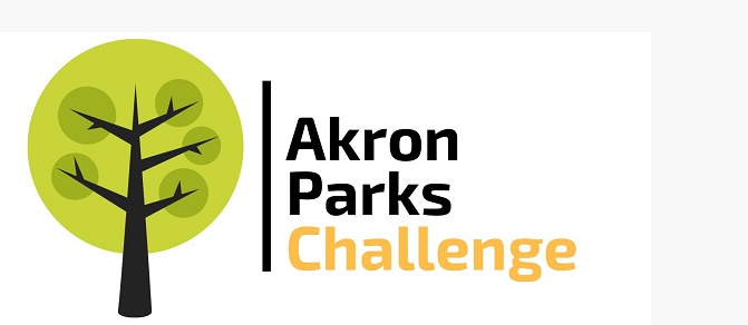 The logo for the Akron Parks Challenge.