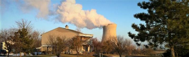 Davis-Besse Nuclear Power Plant in Ottawa, Co., OH