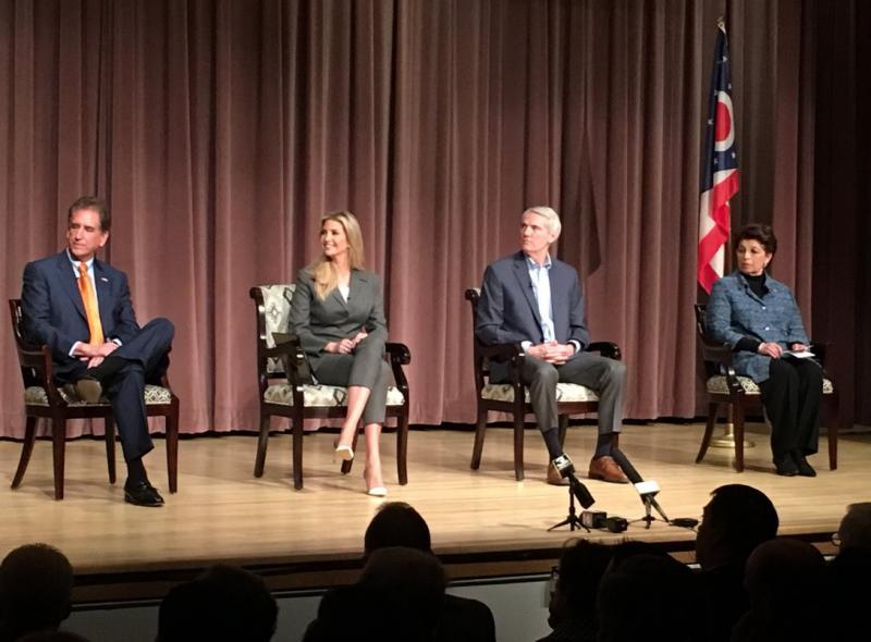 photo of Ivanka Trump, Jovita Carranza, Rob Portman, Jim Renacci