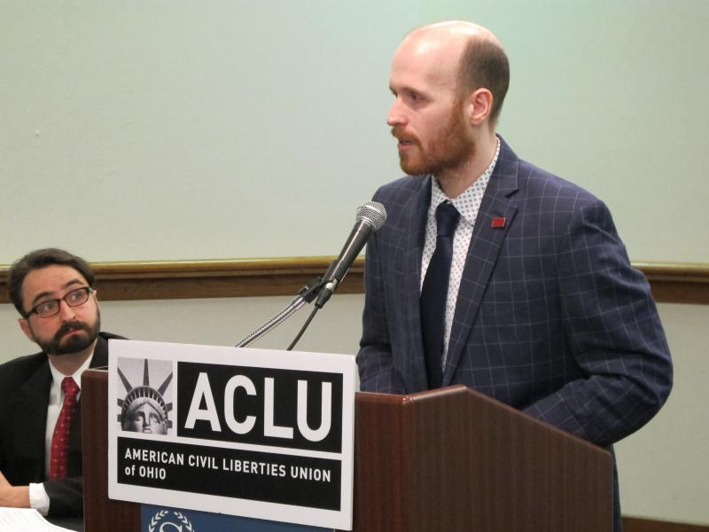 Photo of ACLU's Mike Brickner
