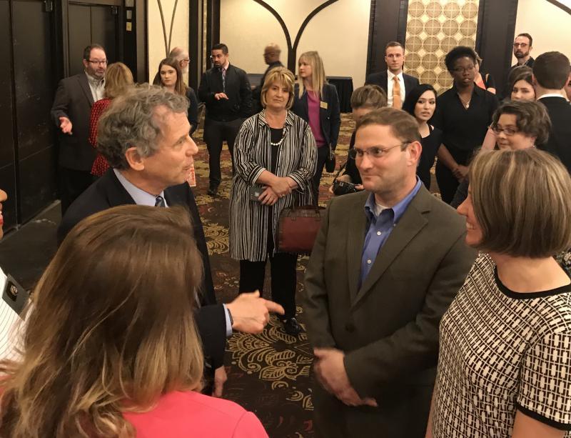 Photo of Brown at Press Club