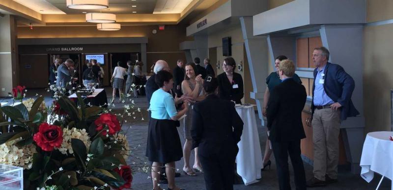 Photo of NELMED Grand Ballroom Foyer