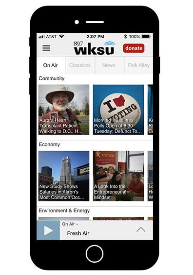 WKSU Mobile App Available For IOS And Android