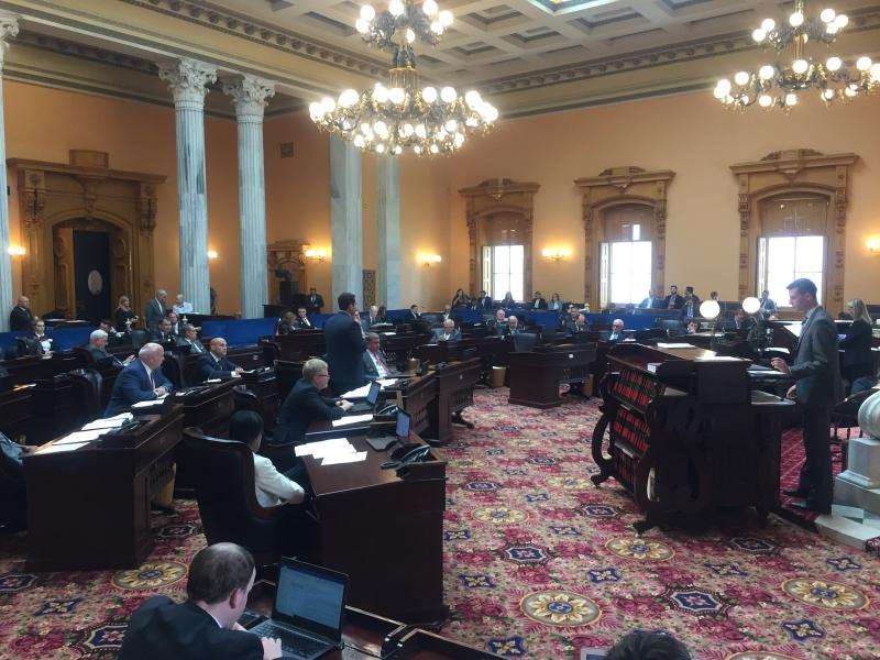 photo of Ohio Senate chamber