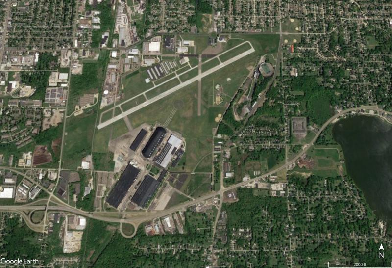 photo of Akron Fulton Airport