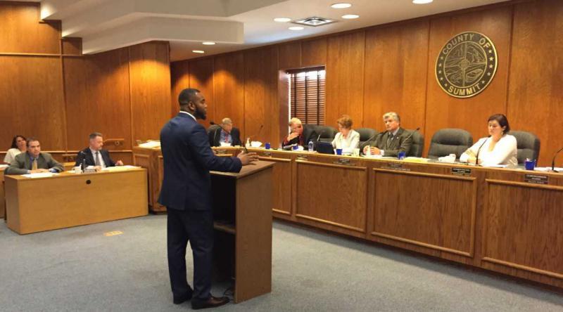 Summit County Councilman David Hamilton