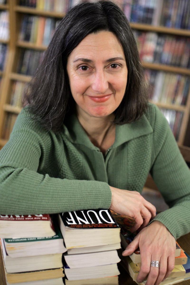 Suzanne DeGaetano of Mac's Backs Books is the Martha Joseph Prize Winner for the 2018 Cleveland Art Prize.