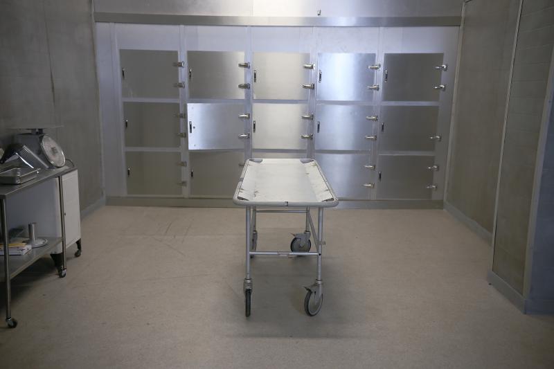 photo of morgue