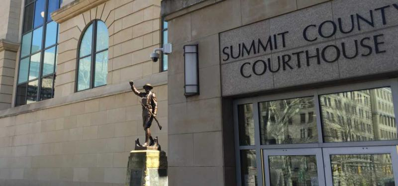 Entrance, Summit County Courthouse