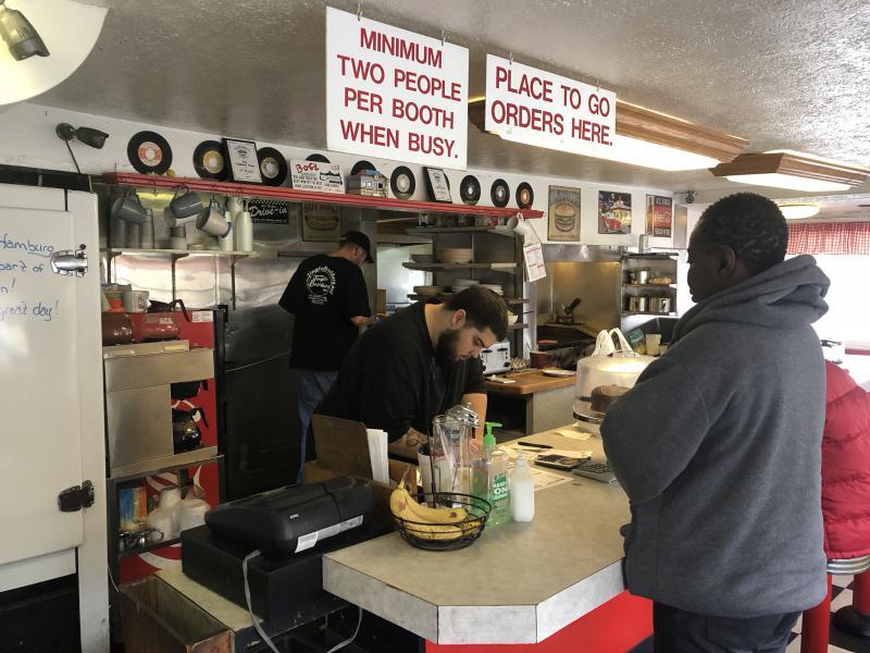 Bob's has a stream of loyal customers.