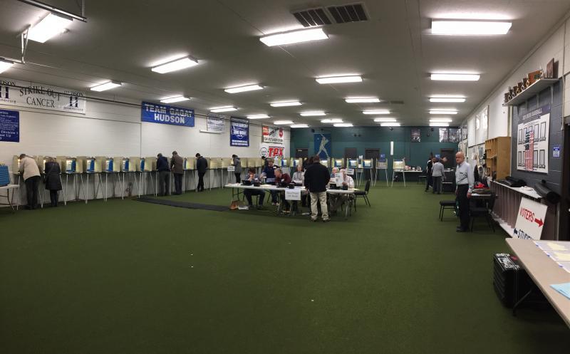photo of Hudson polling station