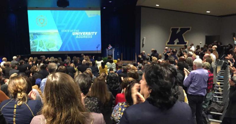 KSU President Beverly Warren's State of the University Address