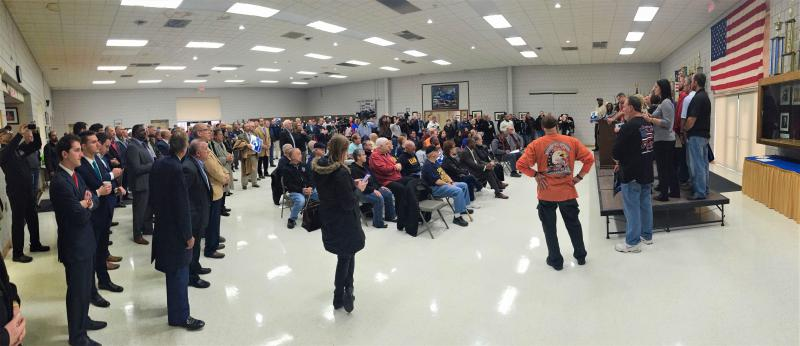 Campaign launch, Lordstown UAW 1112 Union Hall