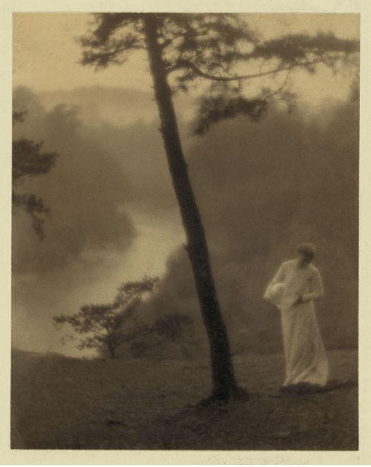 'Morning' 1905. Clarence H. White. Gum bichromate print