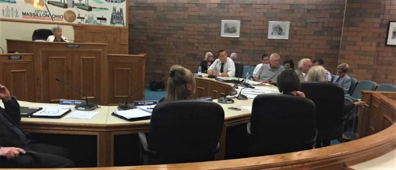 Massillon City Council during decision to acquire Affinity
