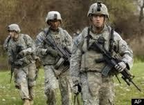 Soldiers from Ft. Campbell's 101st Airborne Division