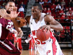 WKU guard TJ Price drove to the hoop against Southern Illinois.