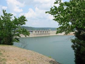The Wolf Creek Dam is a multi-purpose dam on the Cumberland River in the western part of Russell County, KY.