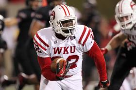 WKU running back Antonio Andrews is the Sun Belt Conference Player of the Year.