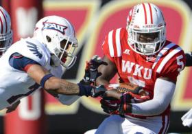 WKU running back Antonio Andrews