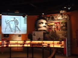 An inside view of the Muhammad Ali Center