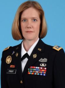 Maj. Candice Frost
